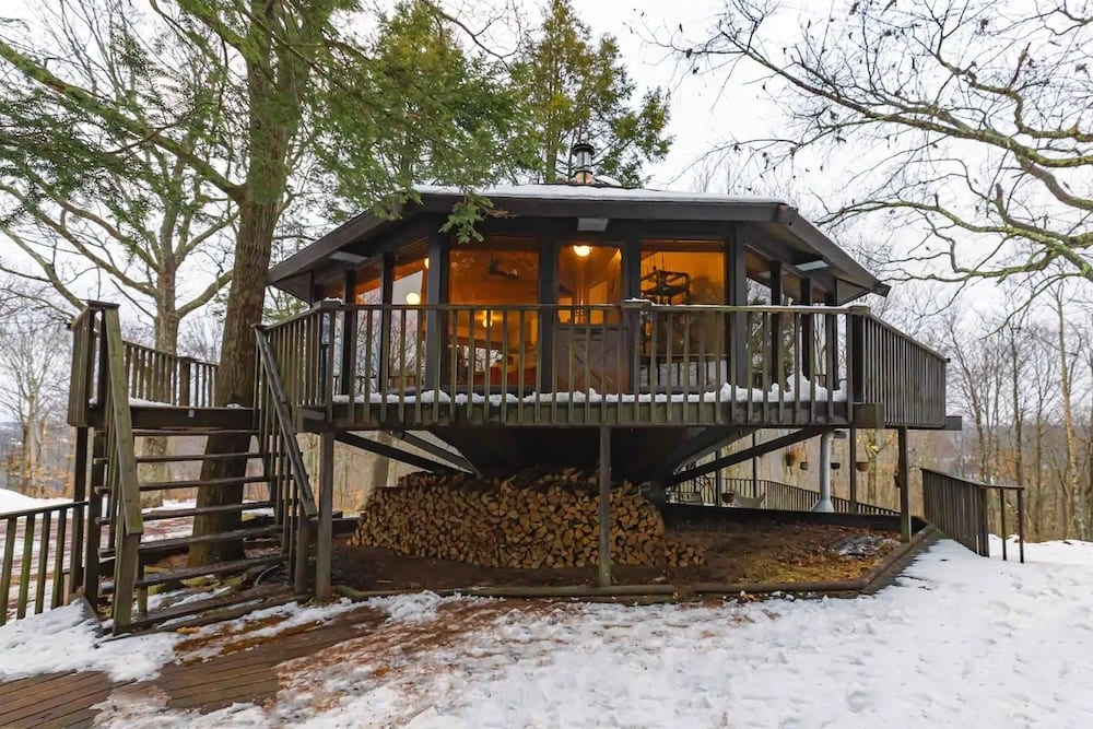 The Treehouse at Camp Caitlin