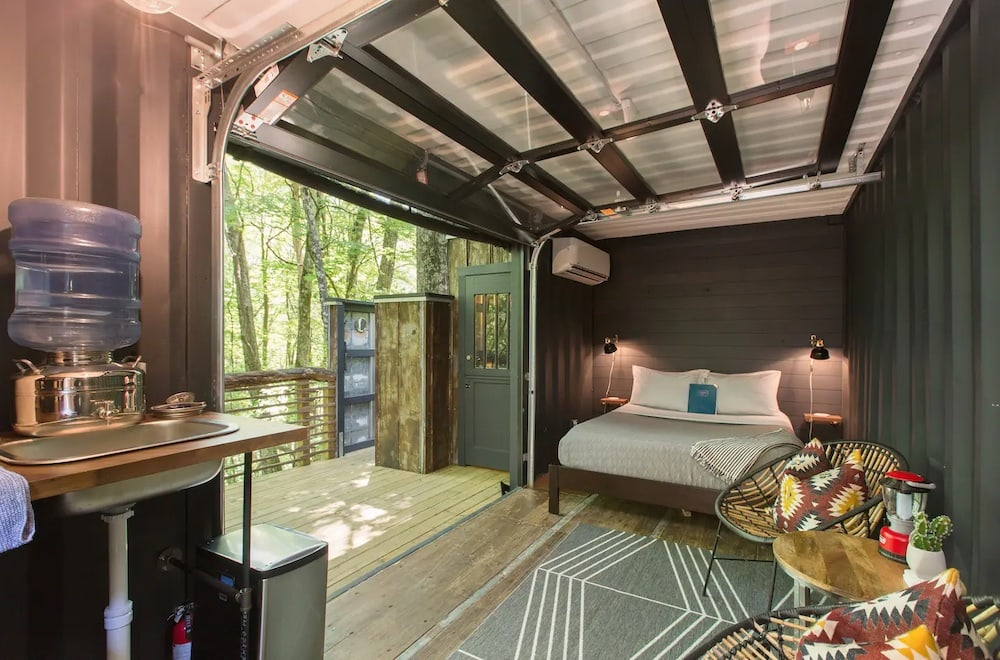 Pisgah Highlands Container Cabin
