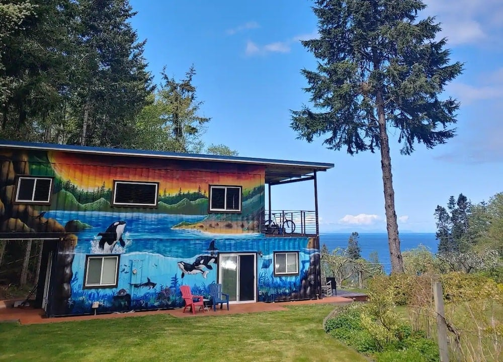 Shipping Container Guest Home