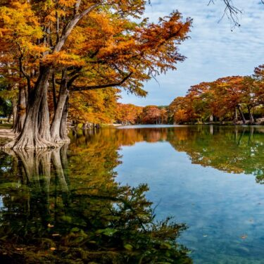 Places to See Fall Foliage in Texas