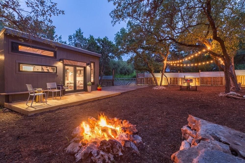 Sundown tiny house texas