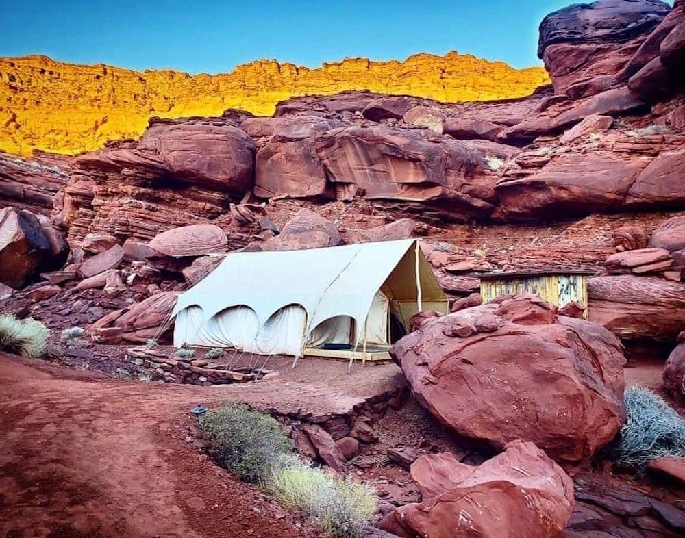 Moab Luxury Tent utah