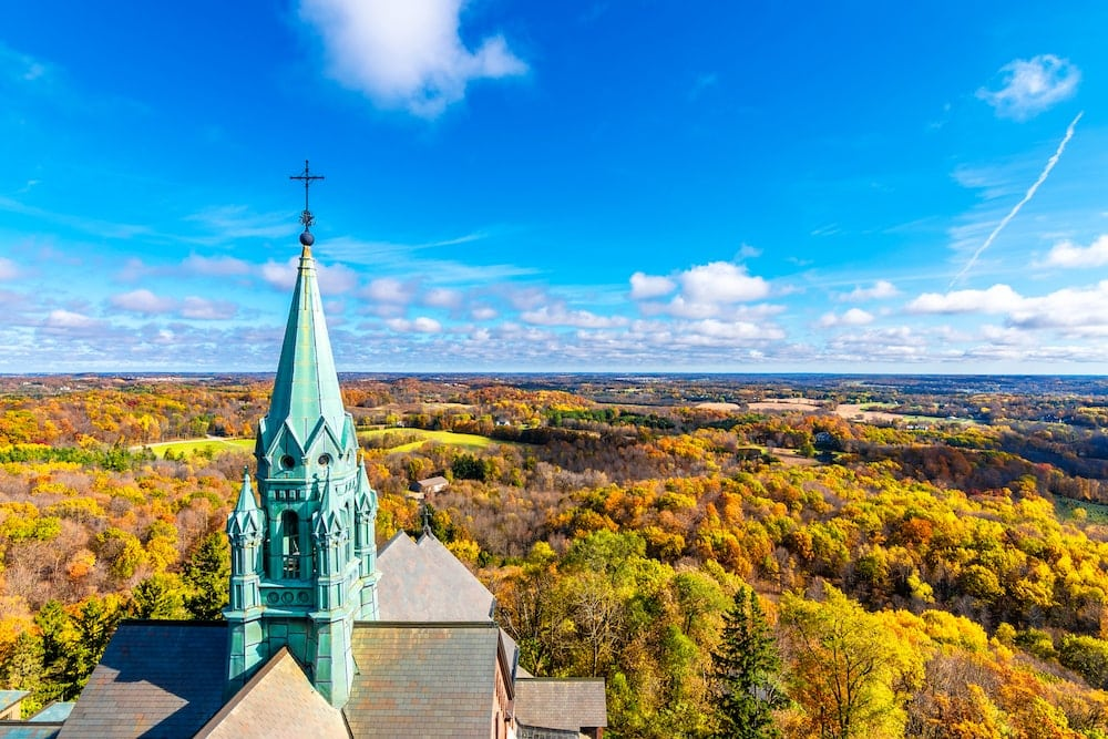 Holy Hill Basilica wisconsin