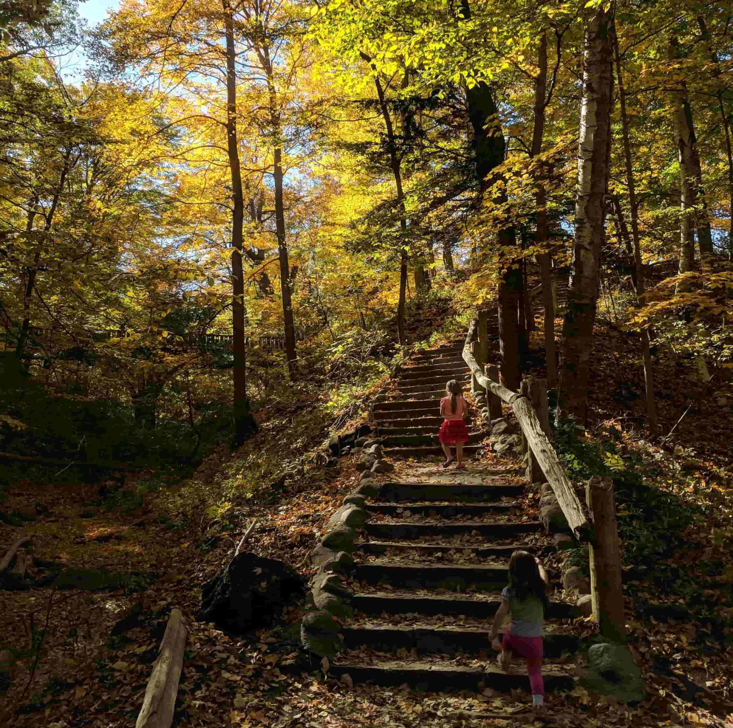 Grant Park's Seven Bridges Trail wisconsin