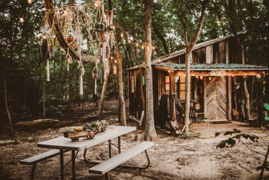 pet friendly cabin texas